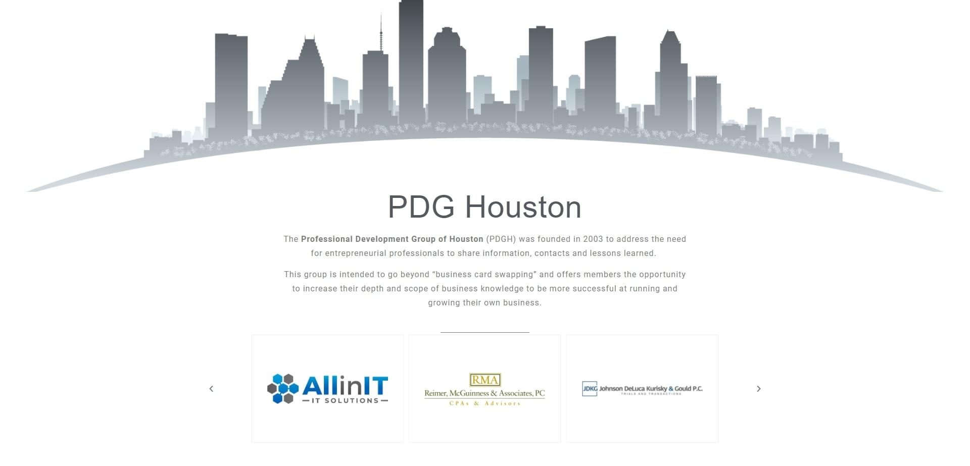 PDG Houston